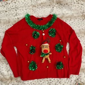 Christmas Ugly sweater with Reindeer
